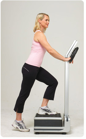 Using the Whole Body Vibration machine for fitness